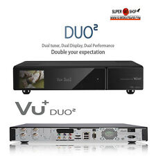 GENUINE VU+ Duo 2 (1 x Twin DVB-S2 Tuner) Satellite Receiver Full HD