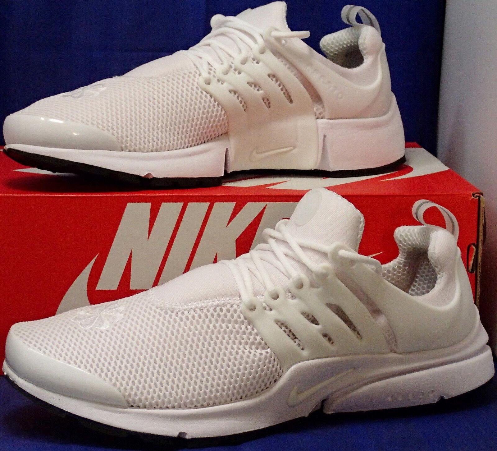Womens Nike Nike Nike Air Presto iD White Black SZ 11     Mens SZ 9.5 ( 846440-991 ) 42f1ac