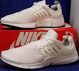 Womens Nike Air Presto iD White Black SZ 11     Mens SZ 9.5 ( 846440 ... 3f668c62ab