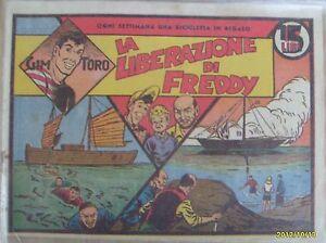 GIM TORO 3° SERIE ARANCIO ORIGINALE N°   5 - COLLANA JUVENTUS DEL 1949