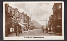 Yorkshire Yorks THORNABY-ON-TEES Mandale Rd c1900s? RP PPC