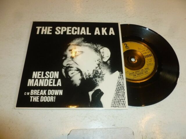"THE SPECIAL AKA - Nelson Mandela - 1984 UK injection moulded label 7"" single"