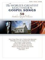 The World's Greatest Southern Gospel Songs Sheet Music P V Book 035022892