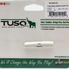 NEW Graph Tech PQ-6400-00 TUSQ Gibson Slotted Acoustic Nut Style 44.6mm Long