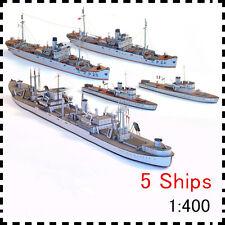 Tobruk Class Transport Ship Medok Patrol Boat C11 Gunboat Fleet Paper Model Kit