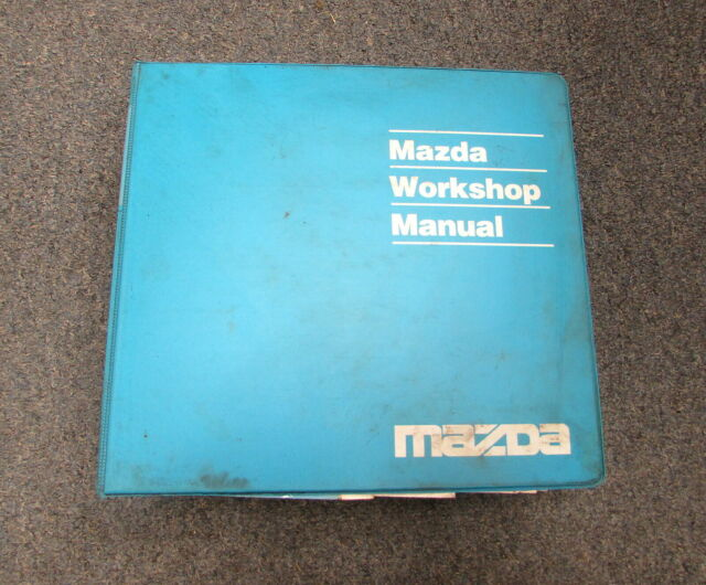 2000 Mazda Protege Service Repair Workshop Manual Wiring ...