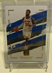 2020-21 Impeccable Julius Randle Basketball Card #'d 17/60 Knicks SP