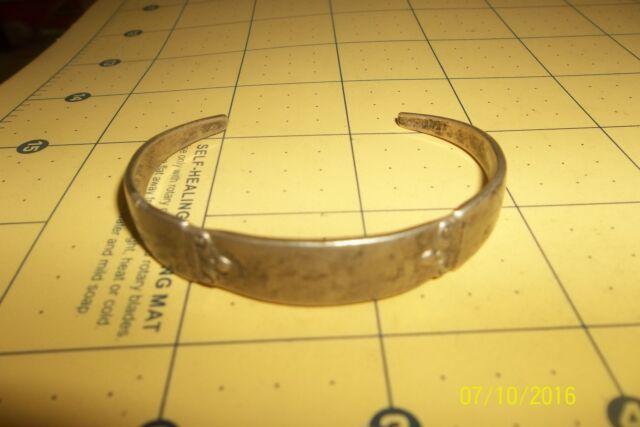 Sterling Silver Jewelry  Cuff Spoon Bracelet Engraveable