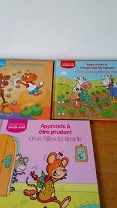 Details Sur Lot 3 Livres Pour Enfants Collection Savoir Vivre Editions Caramel