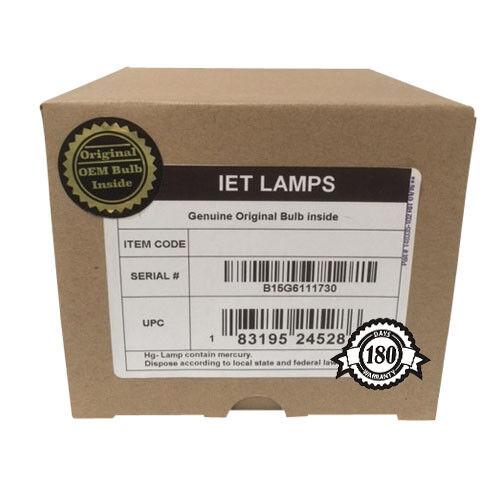 For EPSON PowerLite 99W Projector Lamp with OEM Original Ushio NSH bulb inside