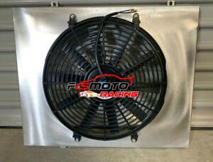 Aluminum-Radiator-Shroud-Fan-for-HOLDEN-COMMODORE-VB-VC-VH-VK-308-amp-253-V8-79-86