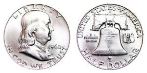 1960-D-Franklin-Half-Dollar-Brilliant-Uncirculated-BU
