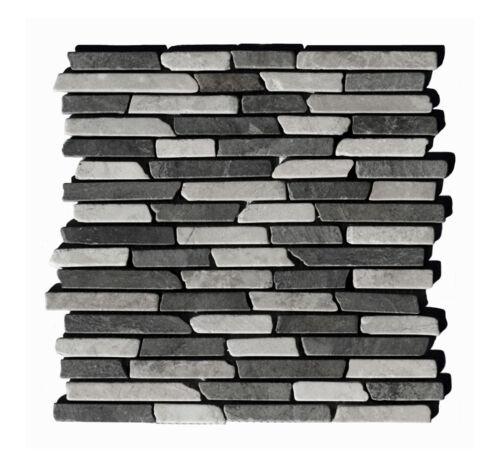 Baddesign Naturstein-Fliesen Lager Stein-mosaik Herne 1 Marmor Matte ST-437