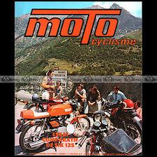 MOTOCYCLISME SP 72.a MOTOBECANE 350 & 125 LT KAWASAKI TOURING AERMACCHI CZ 1972