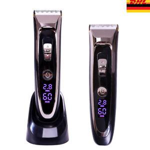 LCD-Keramik-Haarschneidemaschine-Bartschneider-Langhaarschneider-mit-Zubehoer-Set