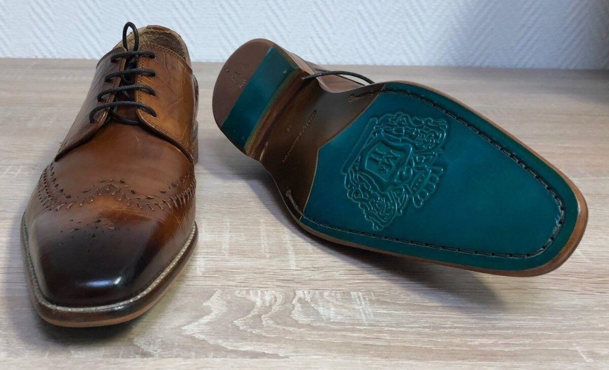 MELVIN & HAMILTON Business Schuhe  in Leder Gr. 45