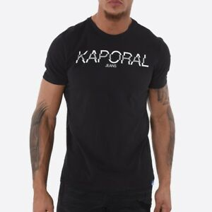 Tee-shirt-Kaporal-manches-courtes-HALBO-black