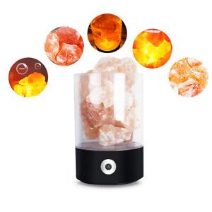 USB-Color-Change-Himalayan-Salt-Lamp-Crystal-Rock-LED-Light-Natural-Air-Purifier