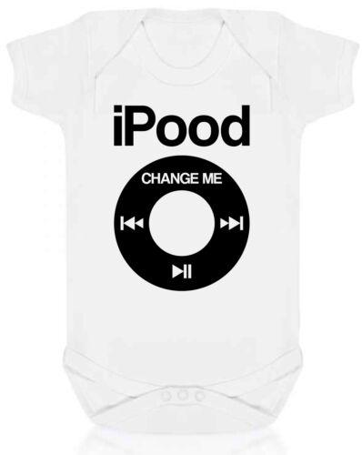 Ipood Babygrow-Diseño Infantil De Regalo Divertido Bebé recién nacido Body Bebes Ropa