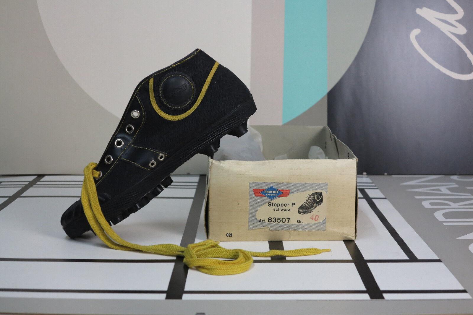Phoenix Harburg galerías botas de fútbol Zapatillas deportivas True vintage 80s Soccer zapatos