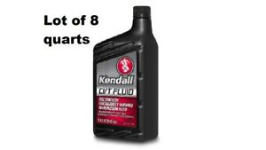 Kendall full Synthetic CVT Transmission Fluid 8 quarts best quality in market