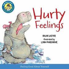 Hurty Feelings (Laugh-Along Lessons) - New - Lester, Helen - Hardcover