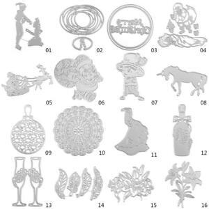 Metal-Dress-Cutting-Dies-Stencil-Scrapbooking-Paper-Embossing-Craft-DIY-Die-Cut