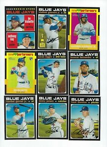 2020-Topps-Heritage-Toronto-Blue-Jays-Master-Team-Set-12-Cards-Bichette-RC