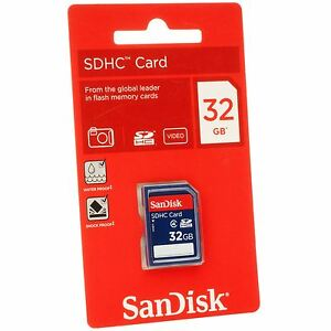 SanDisk-32GB-SDHC-SD-Flash-Memory-Card-Class-4-HD-Video-Camera-SDSDB-032G-B35