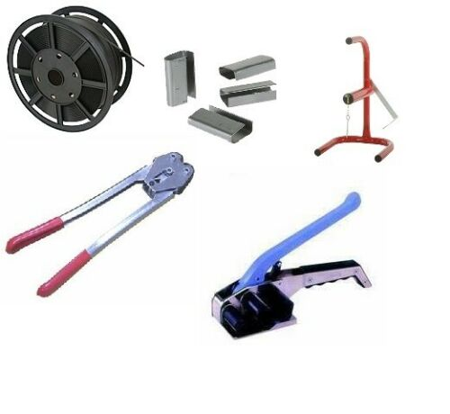 NEW Heavy Duty Pallet Strapping Banding Kit 001//002//003//004//005 HIGH QUALITY