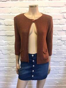 Size Cotton 100 Ricci Cardigan Crochet S Carina nOZXSTqq