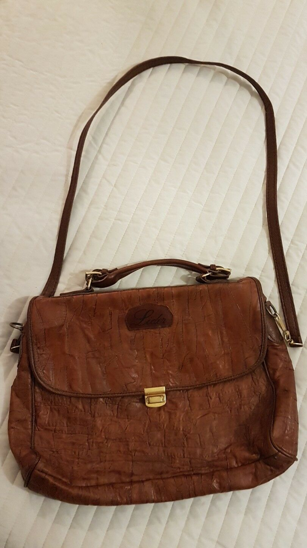 Leder-Tasche Businesstasche braun | Gutes Design  | Stil  | New Style