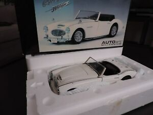 Austin Healey 3000 Mkii Blanche Autoart Millennium 1/18 (occasion Voir Photo)
