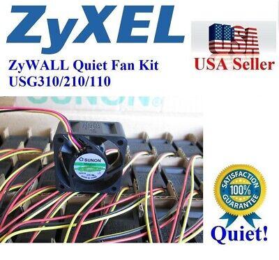ZyWALL ZyXEL Quiet Version Fan for USG110 USG210 USG300 USG310 12~18dBA Noise