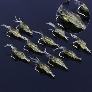 10pcs-Lure-Bait-Shrimp-Fishing-Simulation-Prawn-Saltwater-Hooks-Realistic-JA