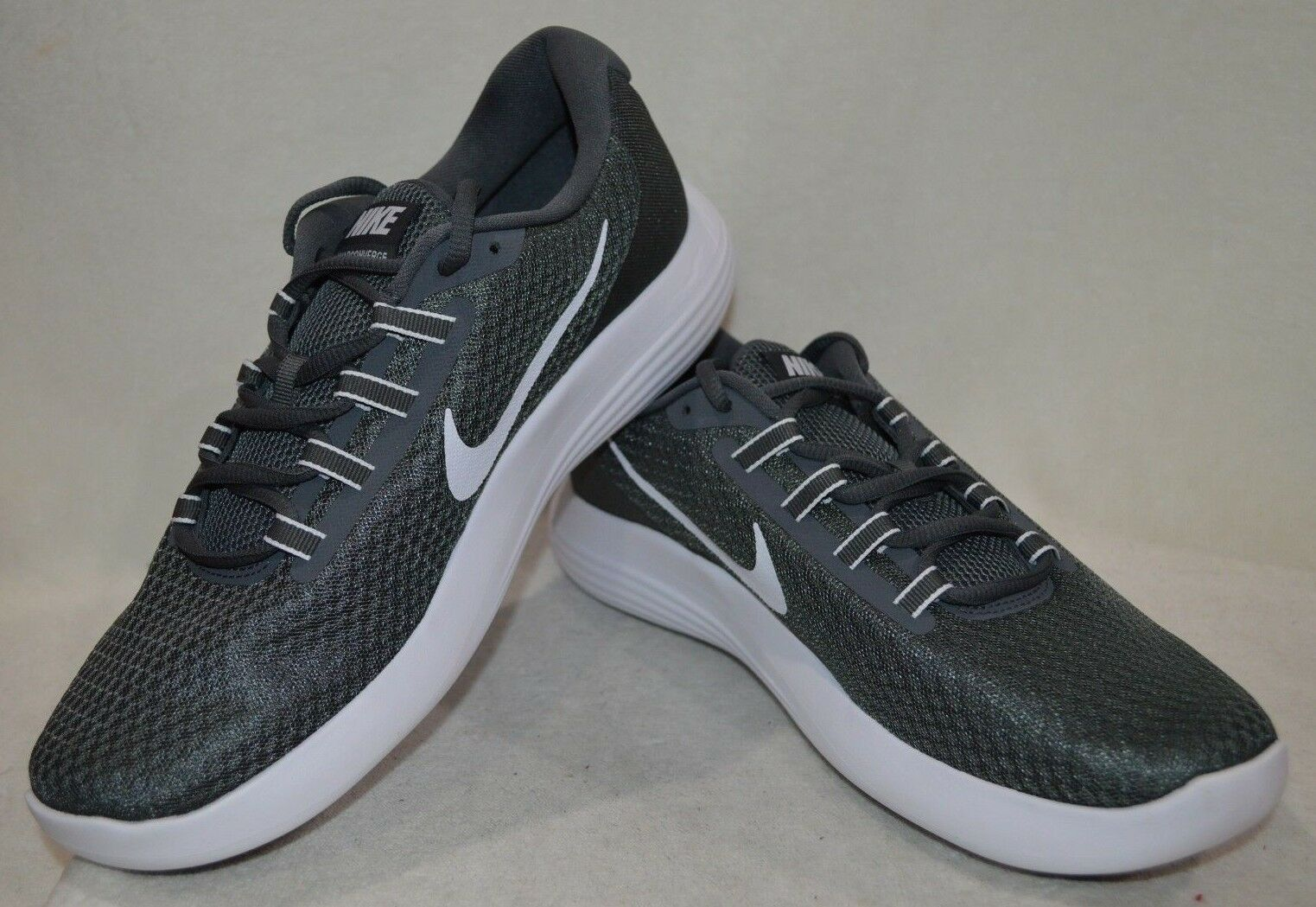 Nike Lunarconverge Grey White Anthracite Men's Running shoes-Assorted Sizes NWB