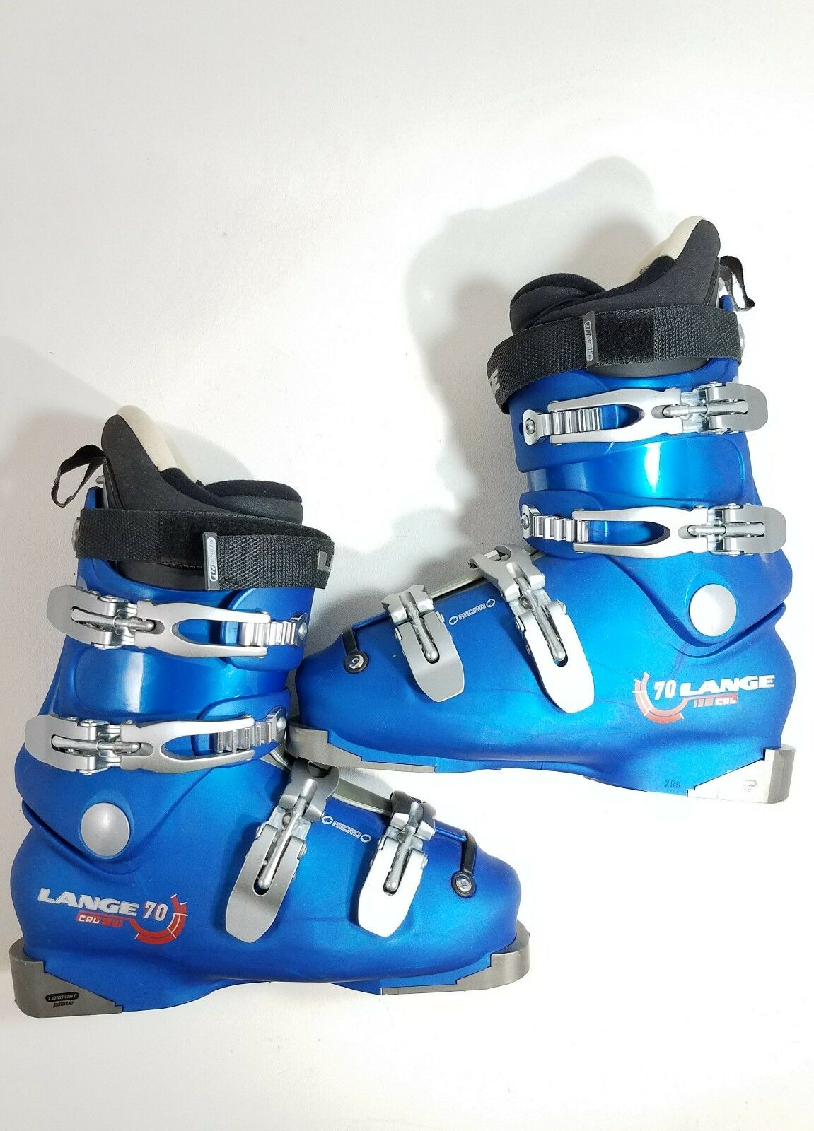 Lange CRL 70 Downhill Ski Boots bluee Size 7,5   40,5