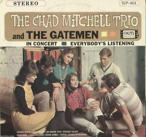 The-Chad-Mitchell-Trio-039-s-Everybody-039-s-Listening-Vinyl-LP-Record-Album-on-Colpix