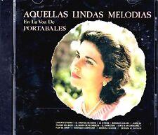 """GUILLERMO PORTABALES  -  """" AQUELLAS LINDAS MELODIAS EN LA VOZ DE PORTABALE"""" - CD"""