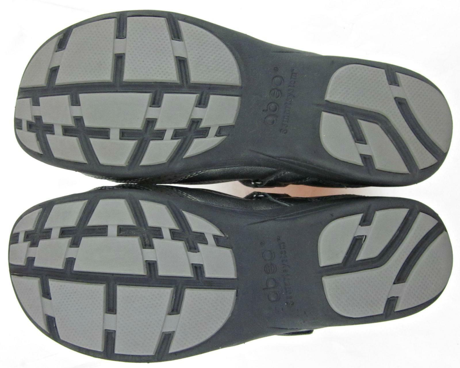 ABEO 3590 SmartSystem Mary Jane shoes Pewter Pewter Pewter Leather US 8 Neutral Footbed 76a0b5