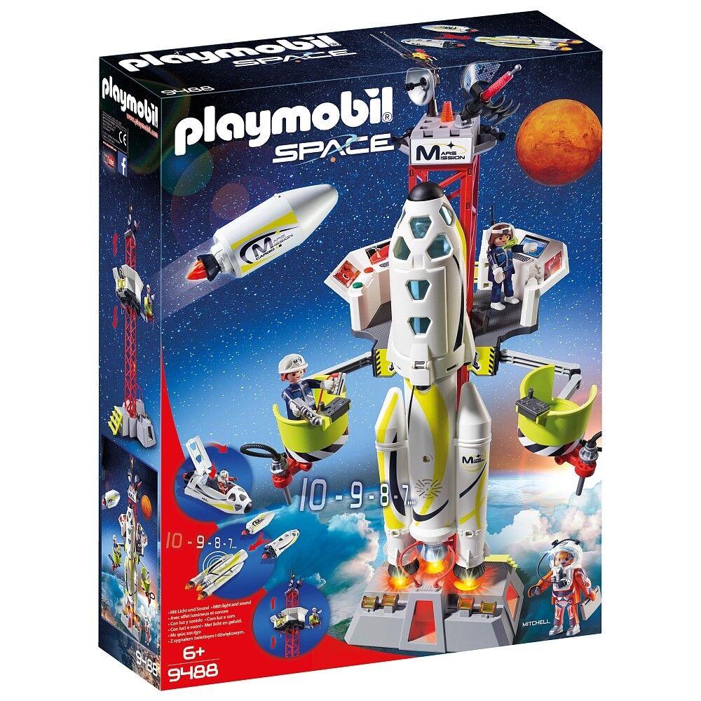 Playmobil - Space  - 9488 - Mars-Rakete mit Startrampe - NEU OVP