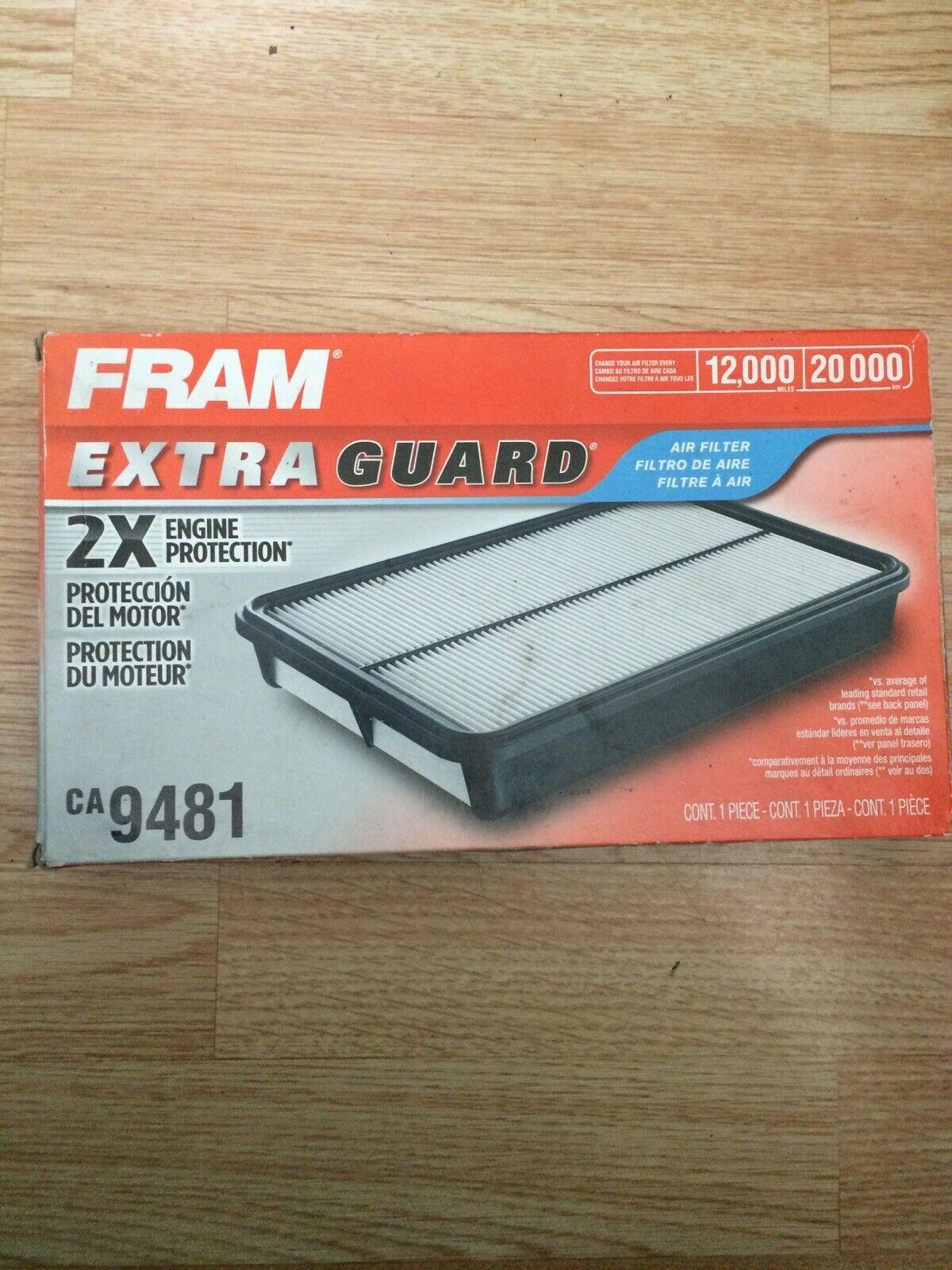 Fram CA9481 Extra Guard Rigid Panel Air Filter