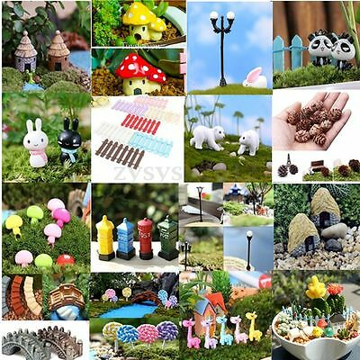 Garden Ornament Miniature Figurine Resin Craft Plant Pots Fairy Dollhouse Decor