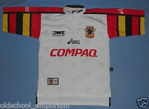 Bradford BULLS / 1998 Home - ASICS - vintage MENS rugby Shirt / Jersey. Size: S - Poland, Polska - I can accept returns if the item turns out to be faulty or/and does not match the description. In this case, I will refund the full cost of the item. Moreover, if you simply want to return the item without giving a reason, you will have t - Poland, Polska