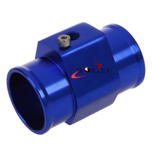 38mm Radiator hose Coolant Water Temperature temp sender Gauge sensor adaptor