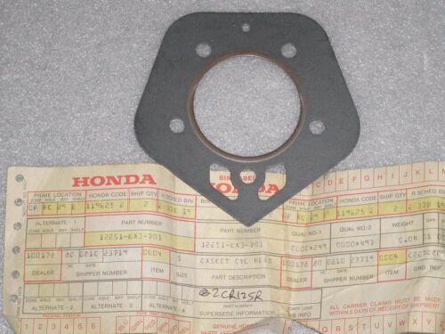 1982 Honda CR125R CR 125 MX CYL//Cylinder Head Gasket NEW OEM NOS 12251-KA3-307