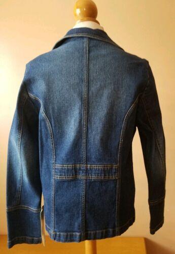 Giacca L Sports New Jeans Jones Nwt York taglia Denim wHqXv
