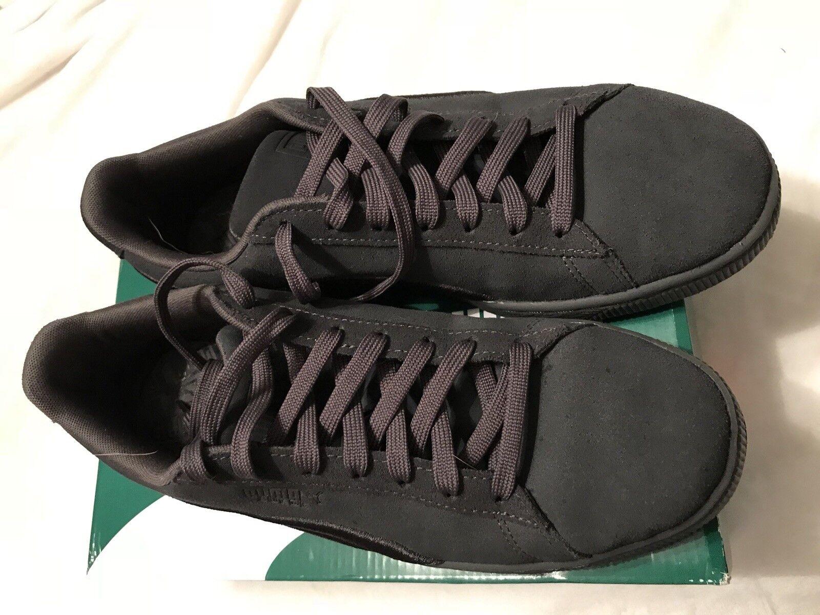Puma Suede Hombre Suede Puma Classic placa gris 10,5 US sneaker gran descuento 6a3aa4
