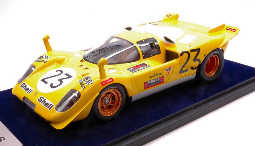 Ferrari 512 S  23 8th 1000 Km Spa 1970 D. Bell   De Fierlant 1 18 modello