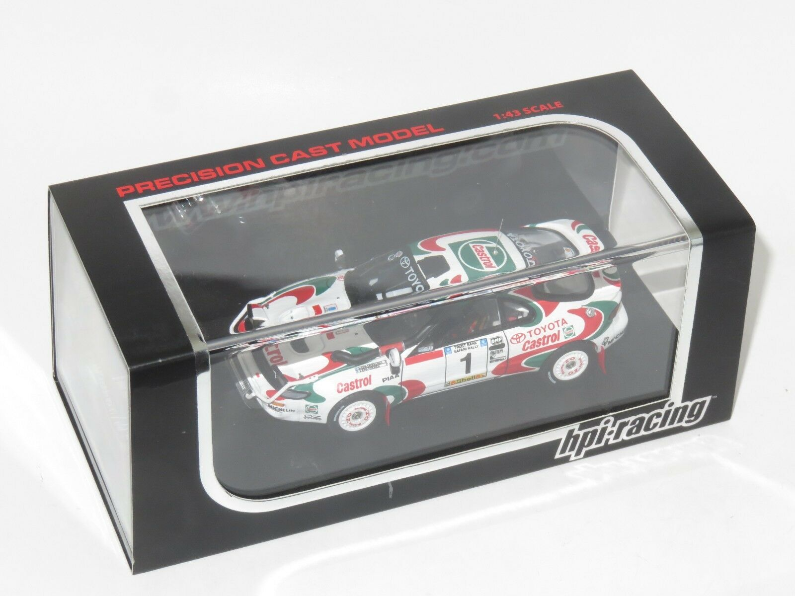 1 43 hpi-racing  Toyota Celica Turbo 4WD Castrol  Safari Rally 1993  J.Kankkunen